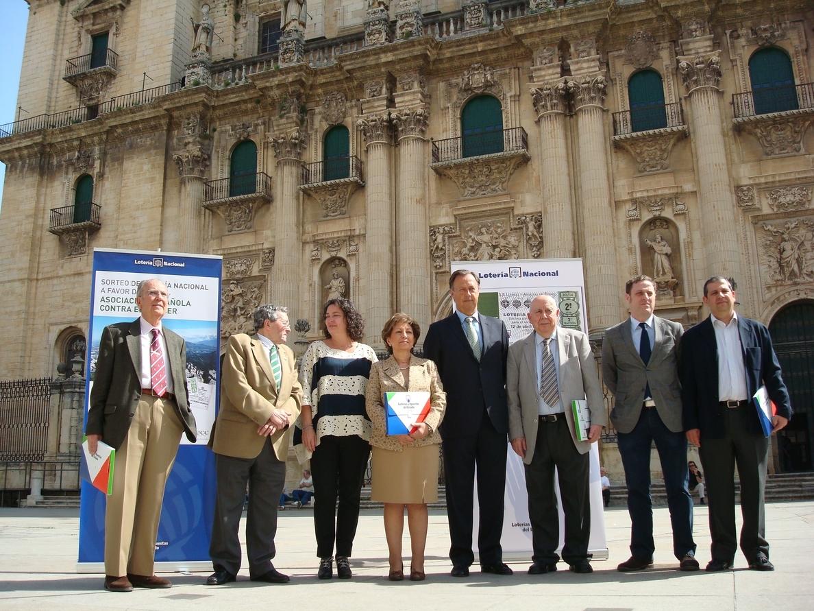 El Teatro »Infanta Leonor» de Jaén acogerá el sábado el sorteo de Lotería Nacional a favor de la AECC
