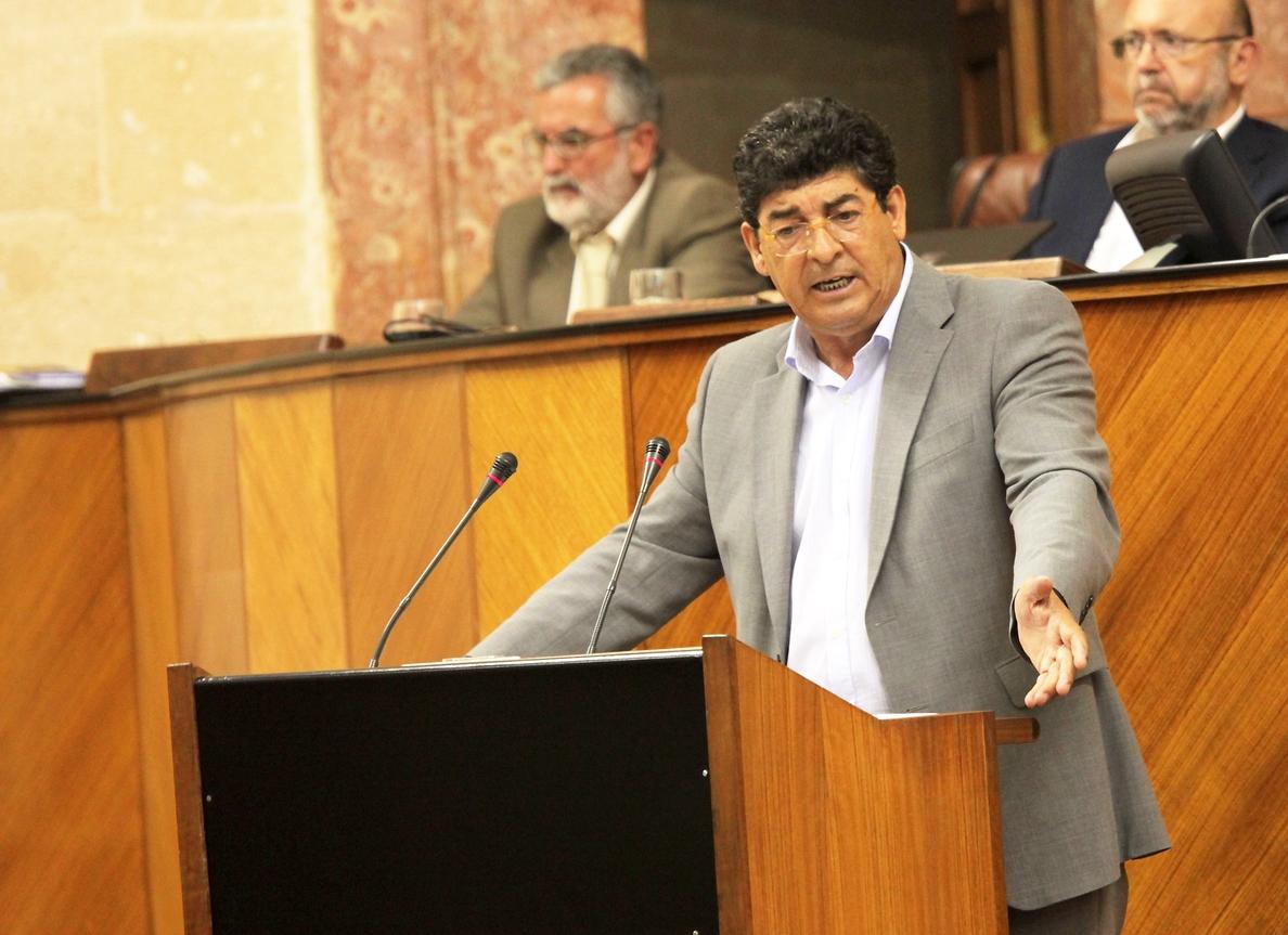 Valderas asegura que el Gobierno andaluz «en su conjunto» está trabajando para dar soluciones a la Corrala