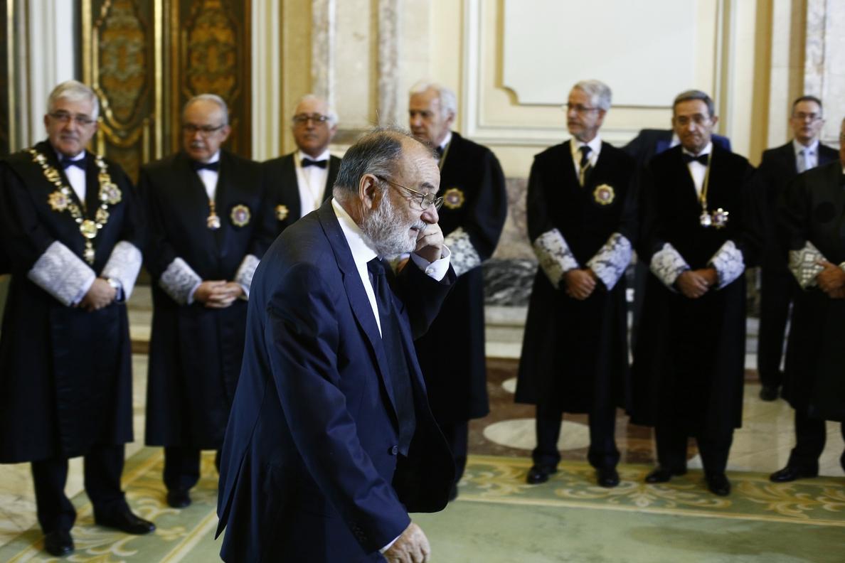Vicepresidente del Supremo dice que se ha subsanado la vía para entregar el auto de Alaya a Chaves y Griñán