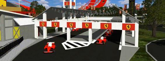 Así será el nuevo parque temático de Ferrari situado en Port Aventura