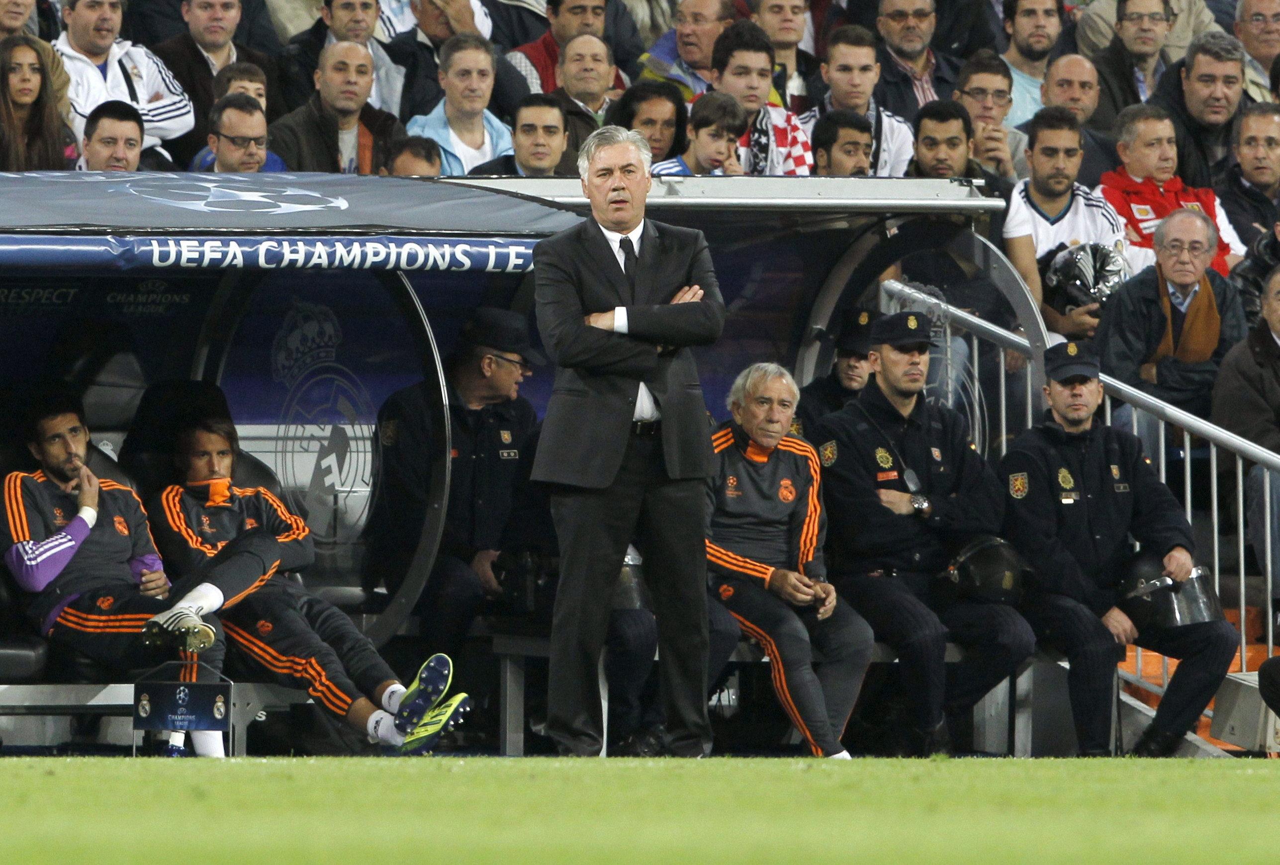 Ancelotti y Simeone sonríen mientras que Guardiola y Mourinho gimotean