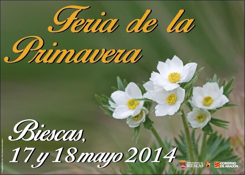 Biescas prepara la quinta edición de la Feria de Primavera