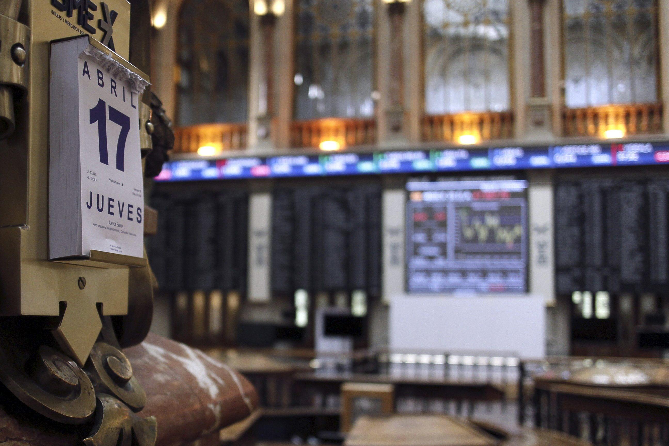 La Bolsa española permanecerá cerrada mañana lunes