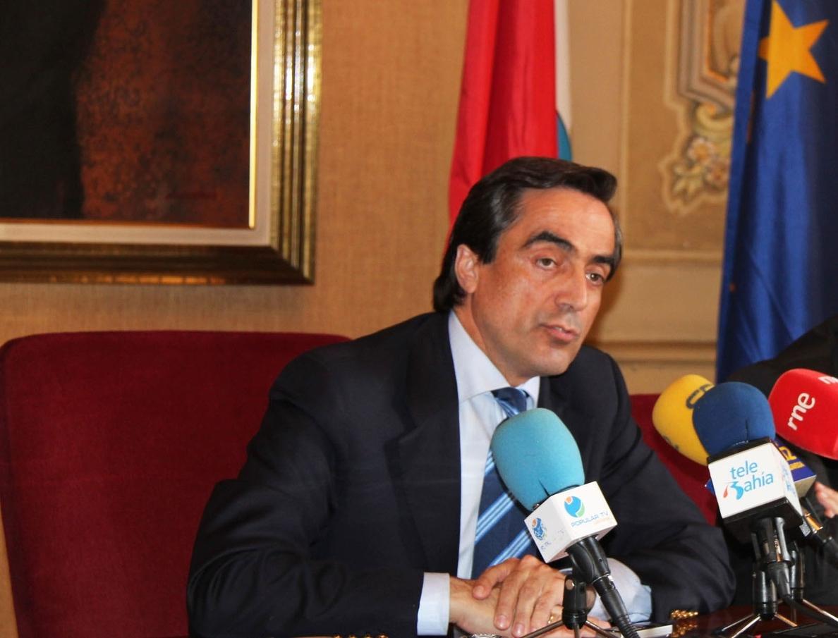 Calderón, preocupado por el «retraso» en la construcción del centro de emprendedores