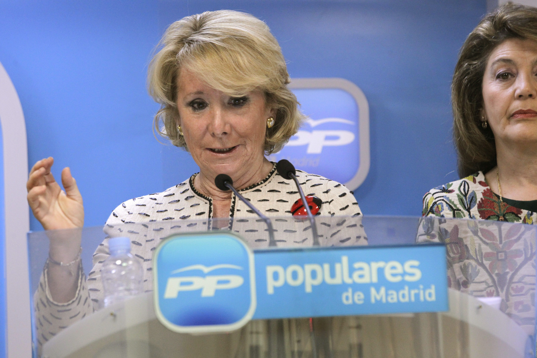 Esperanza Aguirre asegura que algunos antitaurinos lo son por ser antiespañoles