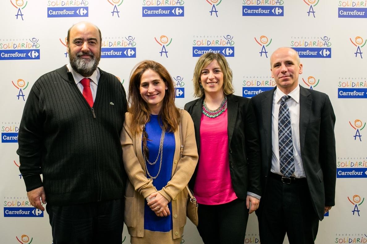 La Fundación Solidaridad Carrefour dona 30.000 euros a la Fundación Aspace Navarra Residencial