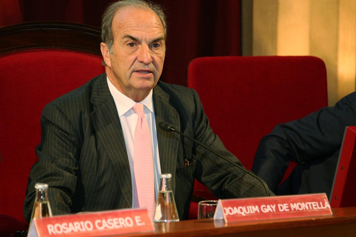 Gay de Montellà dice que habrá pacto fiscal porque la contribución actual «no puede durar»