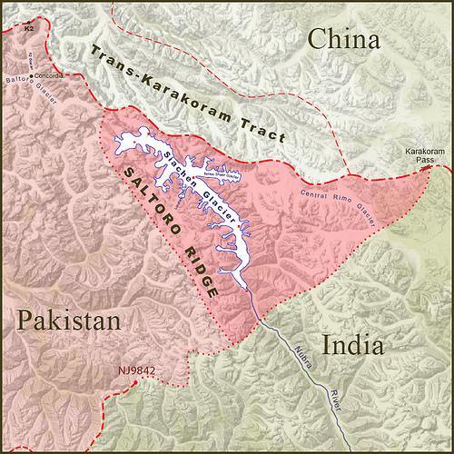 El glaciar de Siachen, algo más que una guerra por el agua