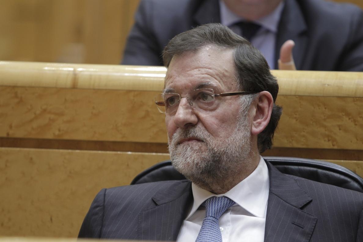 Rajoy deberá pronunciarse el martes en el Senado sobre Cataluña y el «pesimismo ciudadano» ante el futuro del país