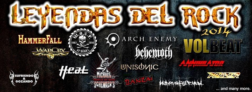 Stryper y Moonspell completan el cartel del festival Leyendas del Rock