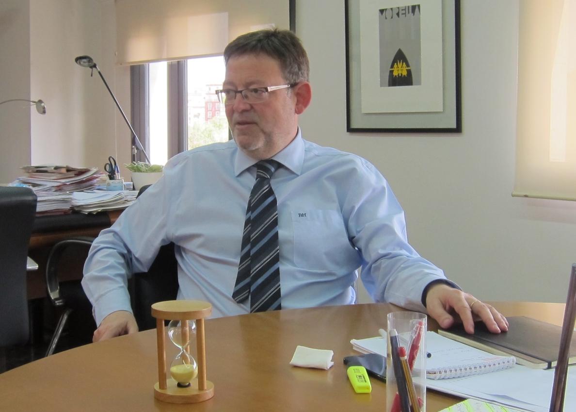 Ximo Puig acusa al PP de intentar ganar tiempo en los casos de corrupción para lograr «amnesia colectiva»