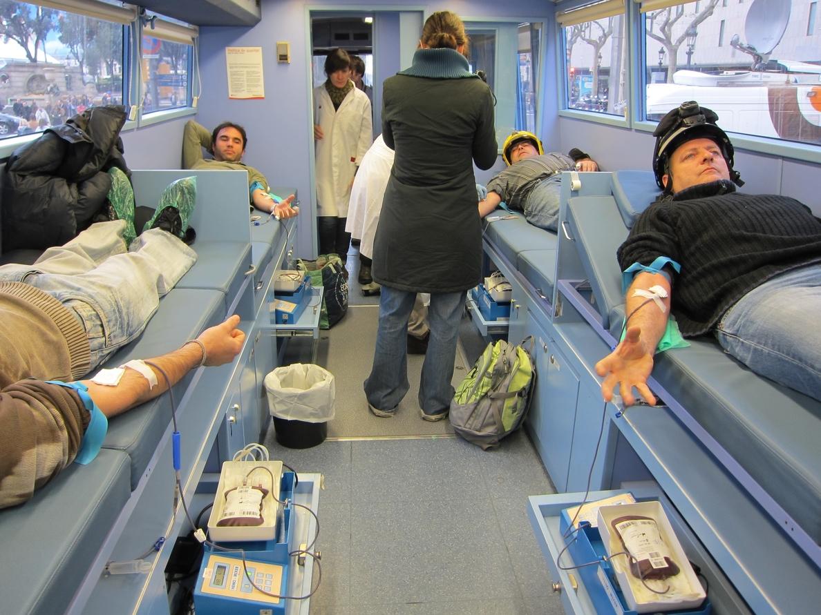 Las bibliotecas de Barcelona convocan una donación de sangre