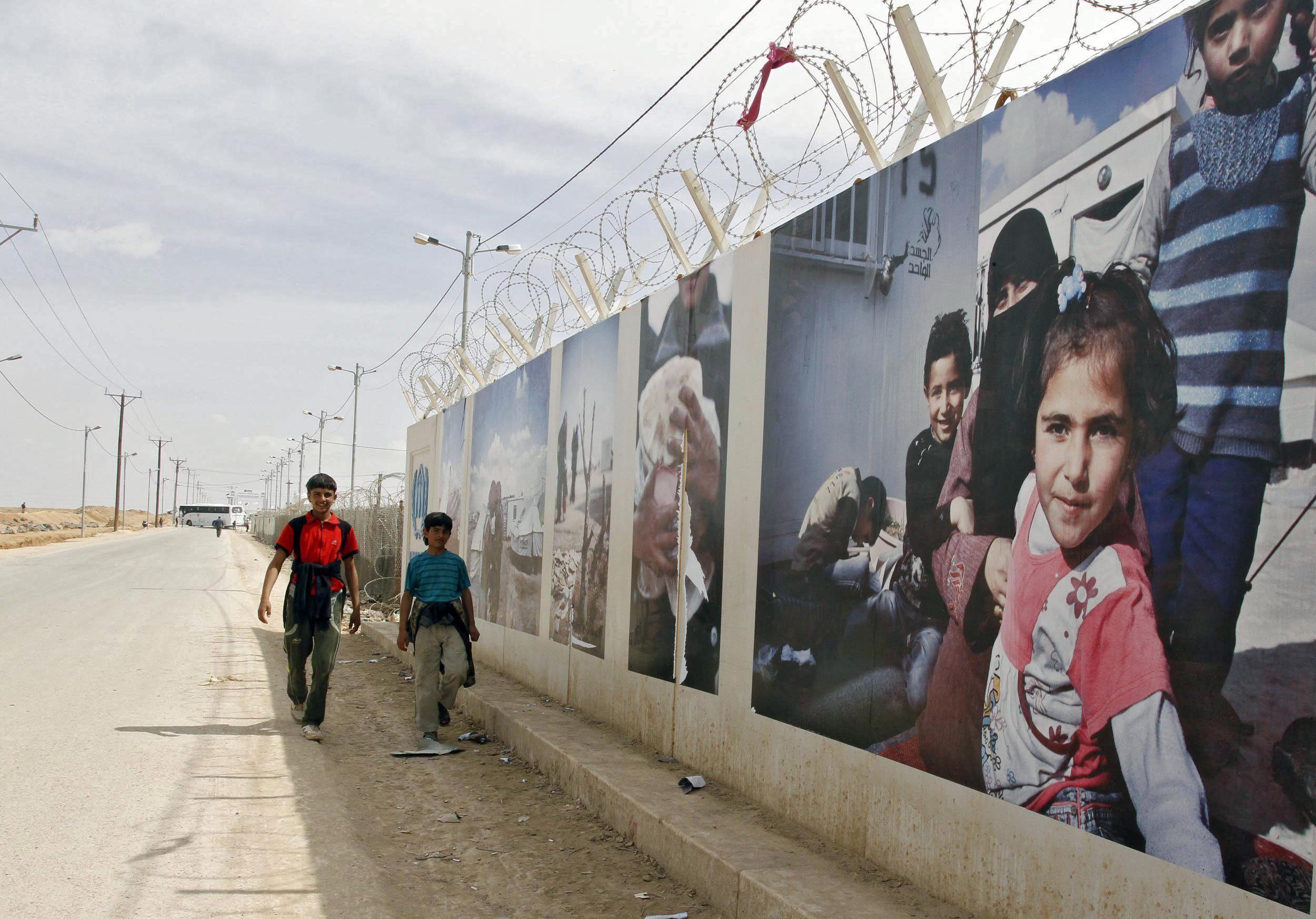 Más de 1.200 sirios huyen a Jordania en las últimas 72 horas