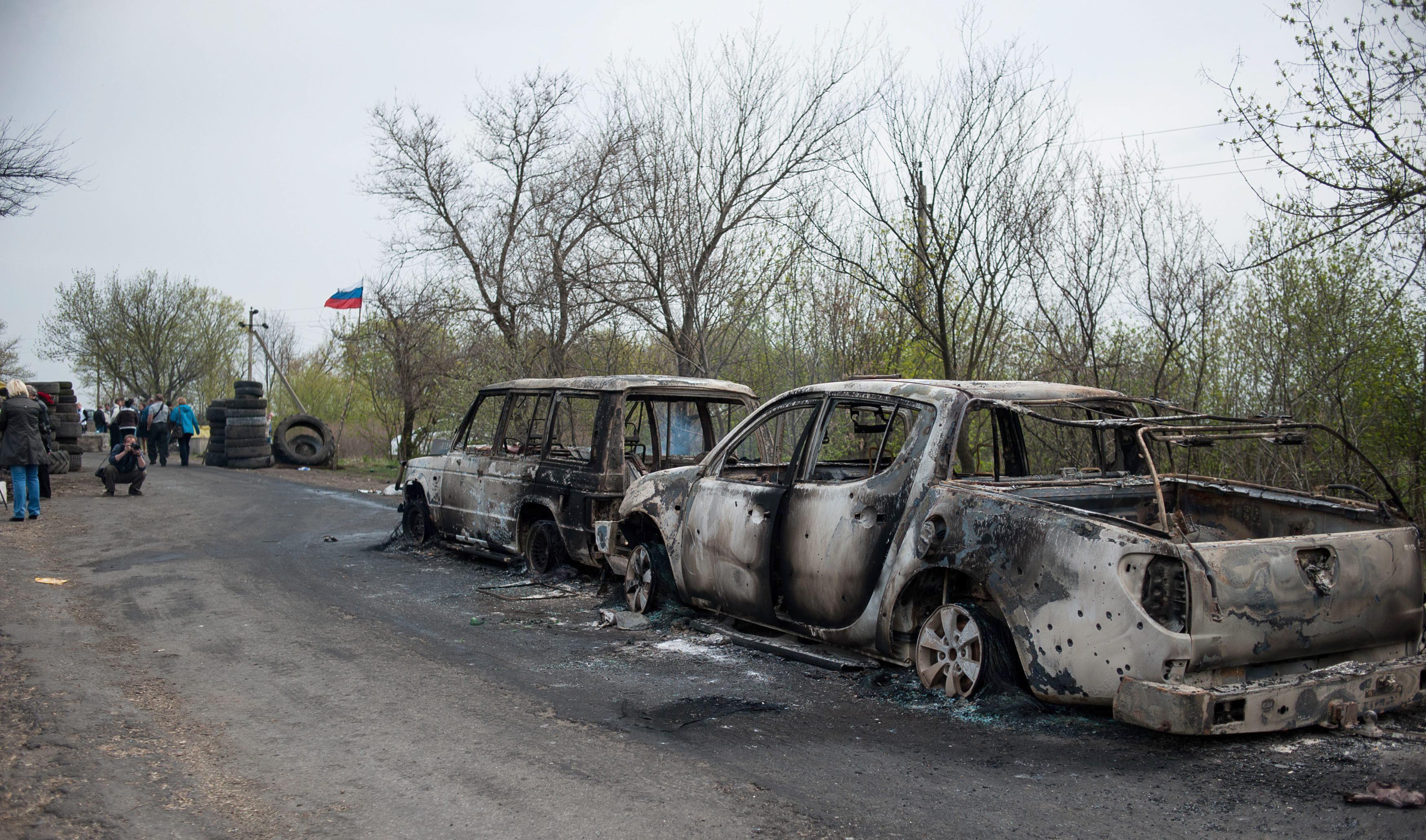 La tregua de Pascua en el este de Ucrania pende de un hilo