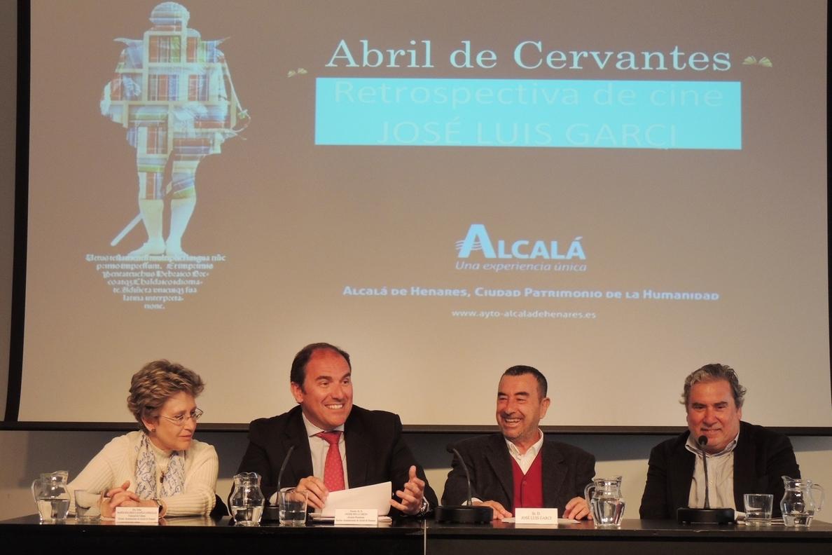 Alcalá dedica un ciclo a José Luis Garci que contará con la presencia del director en la primera proyección-coloquio