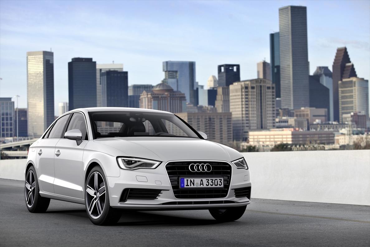 El Audi A3, »Coche Mundial del Año 2014»