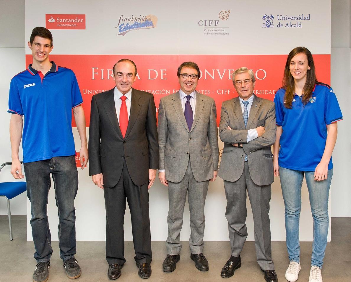 Banco Santander, la Fundación Estudiantes y el CIFF colaborarán en el desarrollo de programas formativos