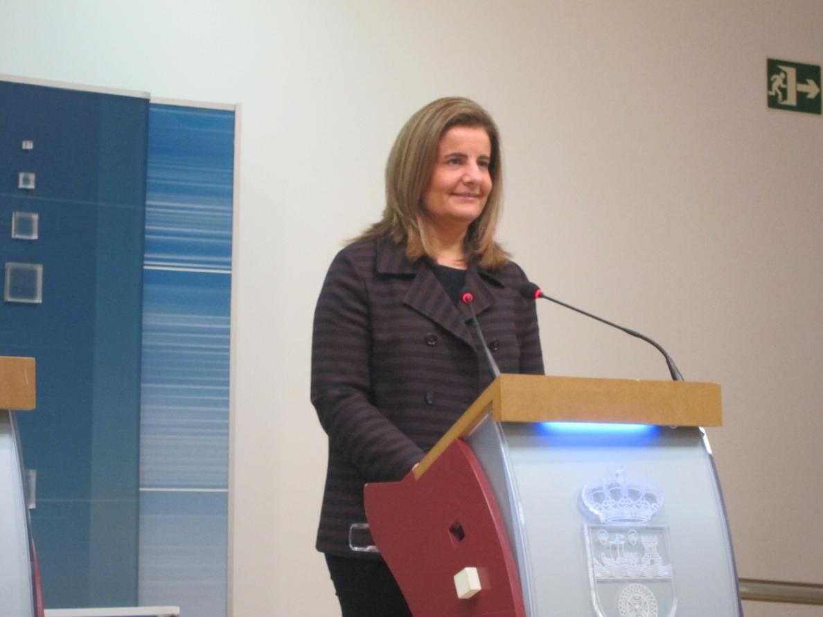 Báñez pide «colaboración» a todas las administraciones para «esclarecer» el «fraude» en cursos de formación