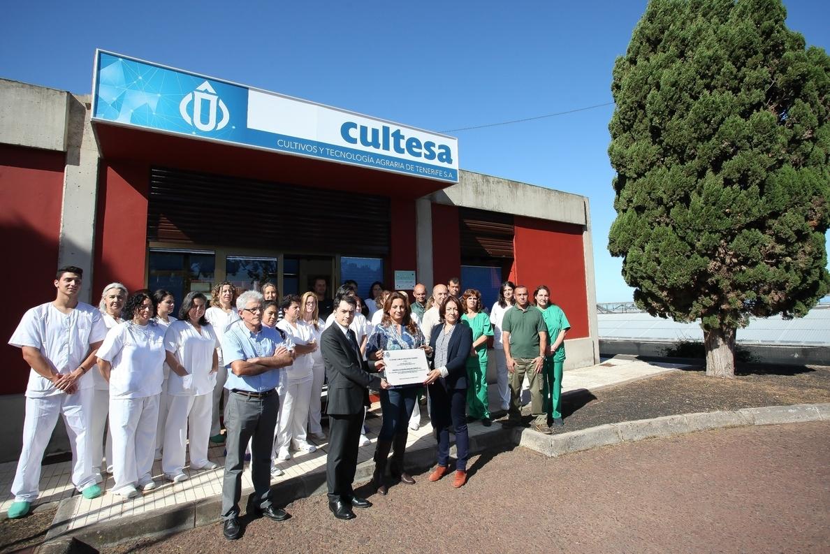 El Cabildo de Tenerife reconoce la responsabilidad social de Cultesa