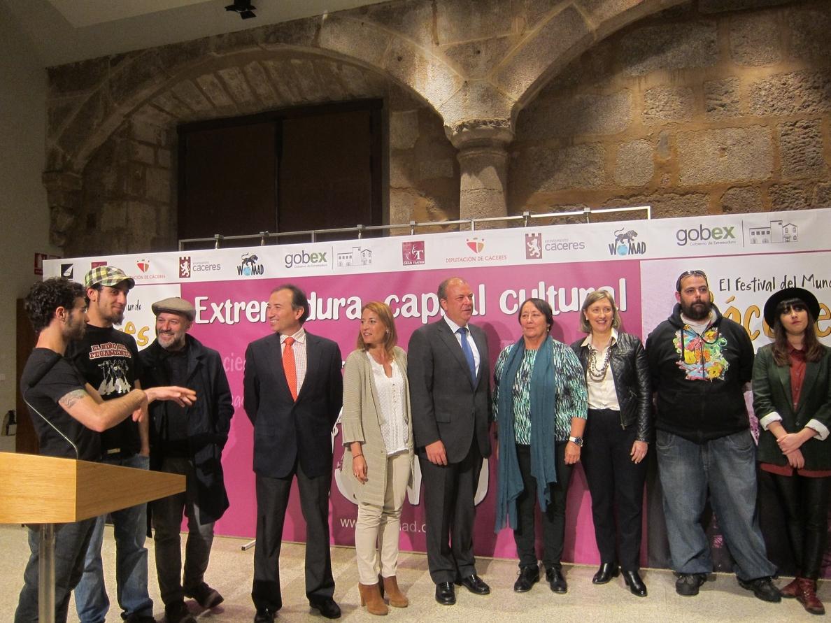 Cáceres se convertirá un año más en epicentro de la multiculturalidad con un Womad 2014 que «no dejará indiferente»