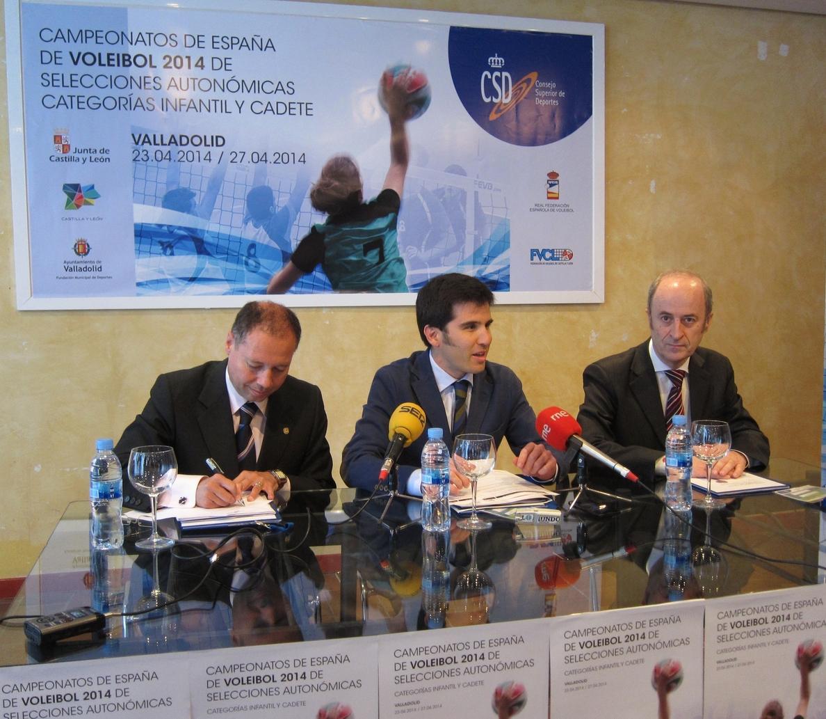 El Campeonato autonómico Infantil y Cadete de Voleibol espera atraer a «3.000 personas» a Valladolid