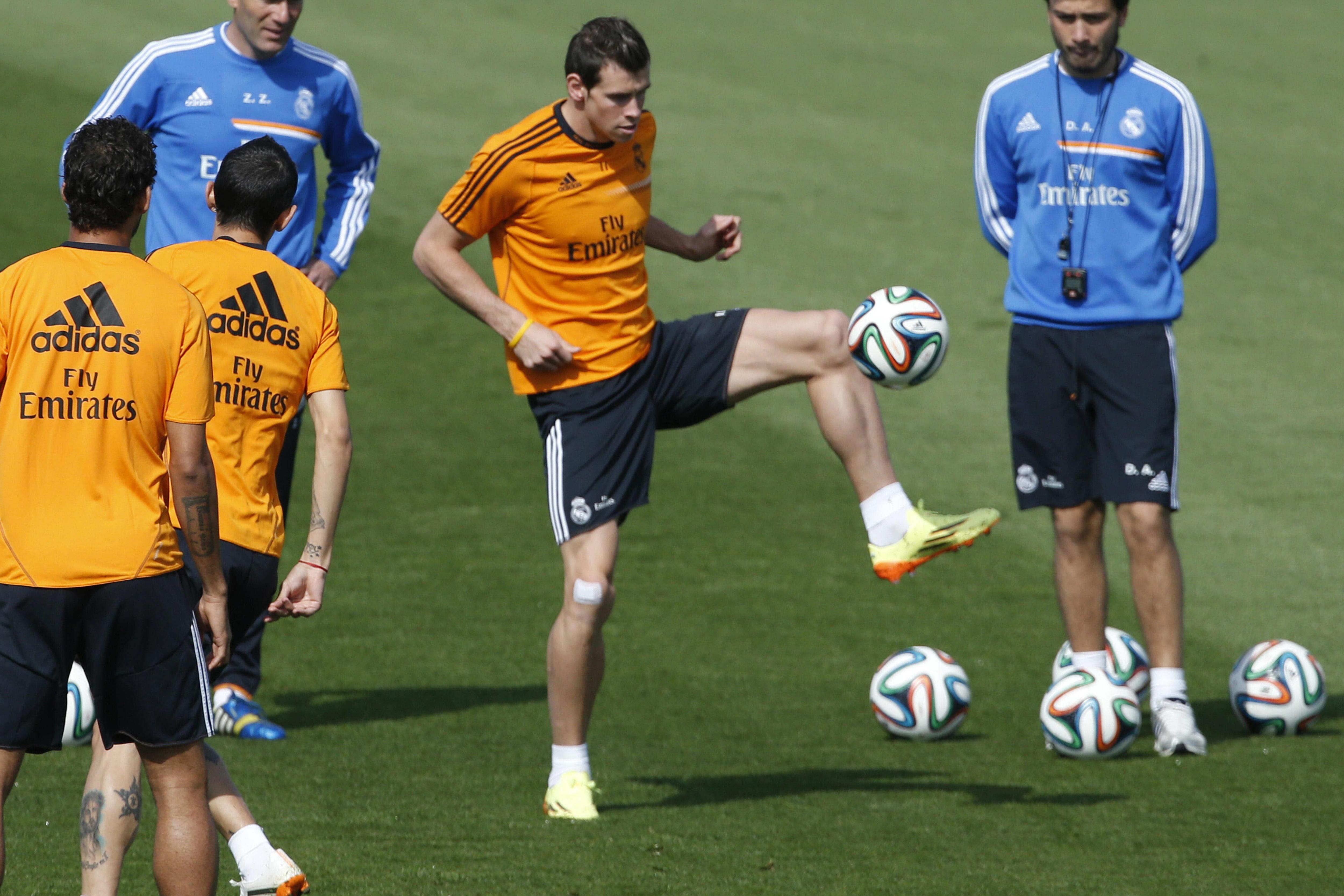 Cristiano Ronaldo, Ramos y Marcelo completan el entrenamiento