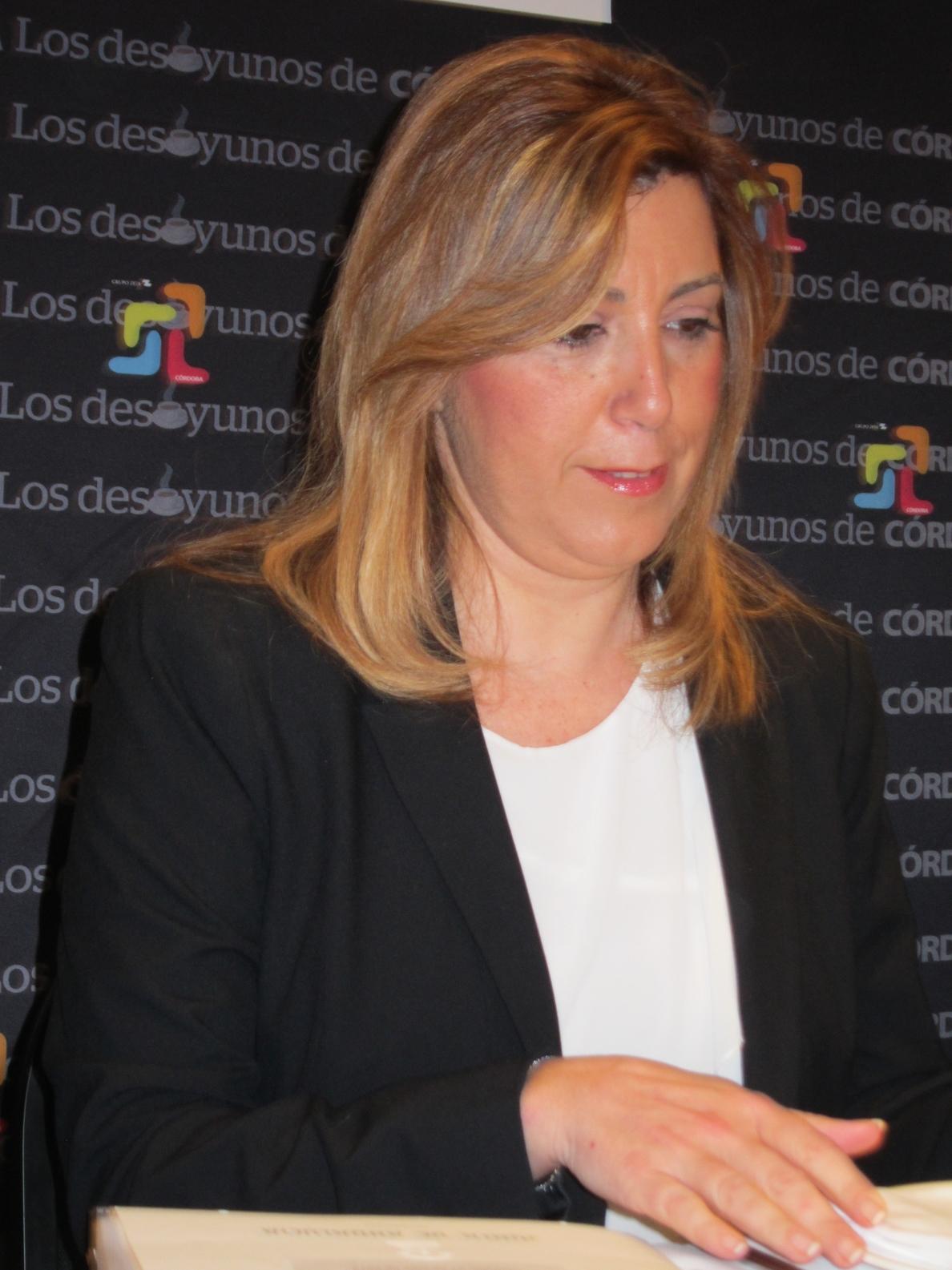 Díaz: La Junta lleva siete meses revisando subvenciones a cursos de formación y «si alguien actuó mal lo va a pagar»