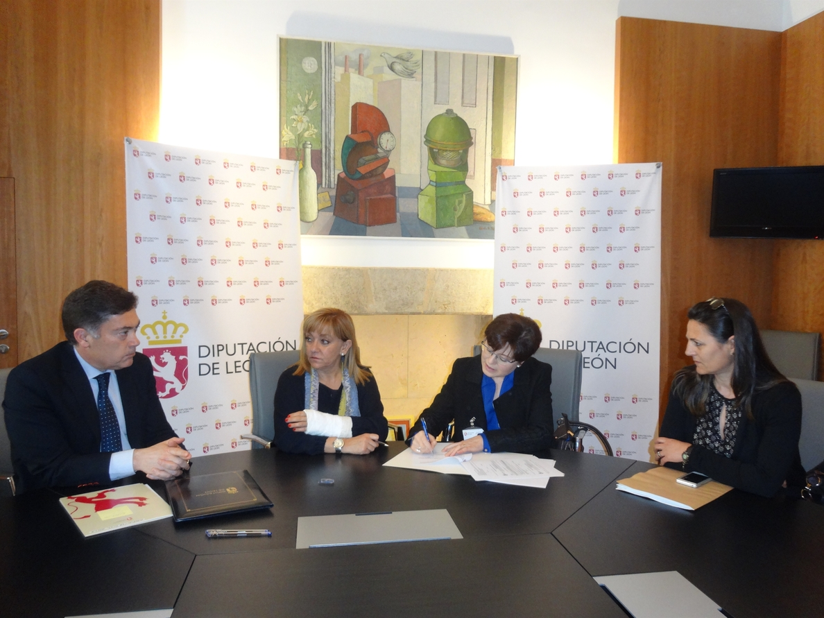 La Diputación de León destina 4.500 euros a apoyar un programa de sensibilización sobre el Alzheimer
