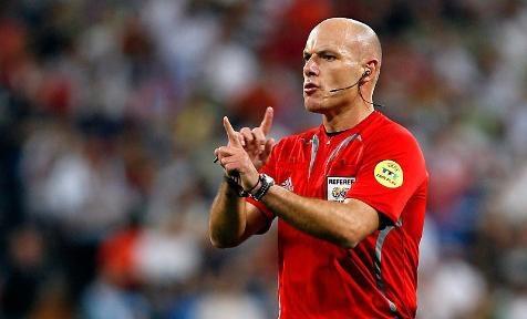 Howard Webb será el árbitro del Real Madrid-Bayern de Múnich