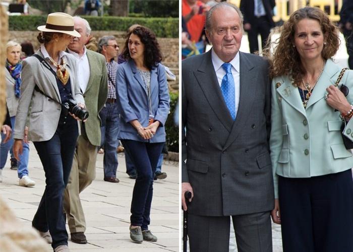 La Infanta Elena, llega a todo: Viernes en Madrid, sábado en Granada y domingo en Palma