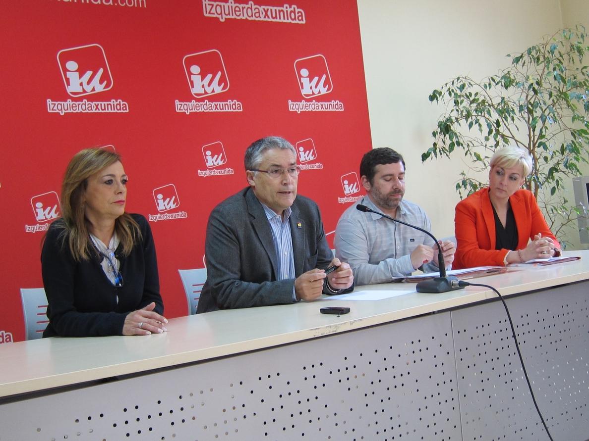 Javier Couso (IU) espera que con las elecciones europeas «llegue el principio del fin del bipartidismo»