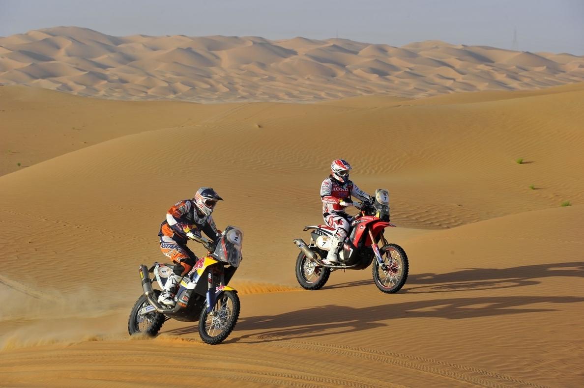 Joan Barreda y Al-Attiyah ganan la primera etapa del Rally de Catar