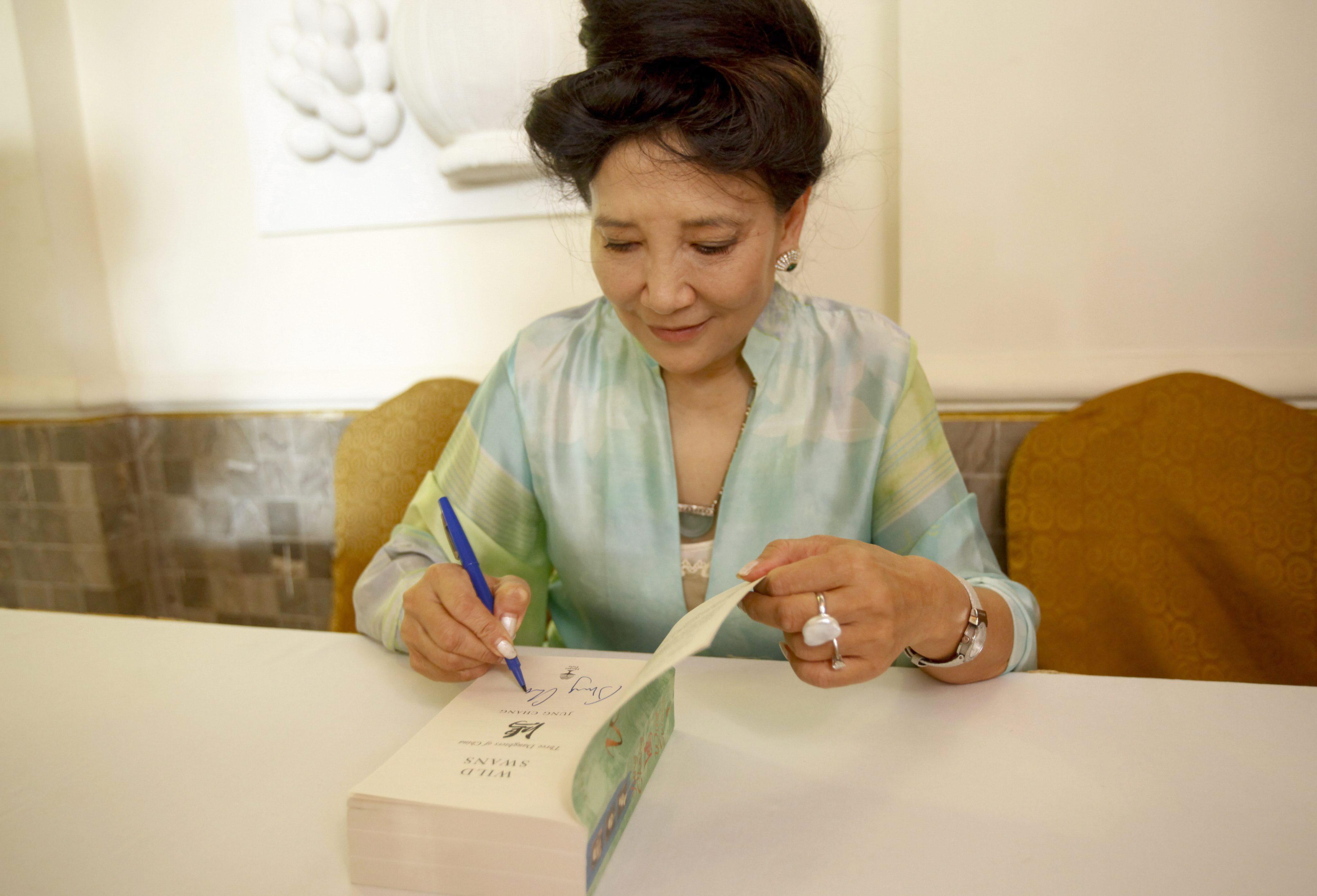 Jung Chang reivindica el carácter modernizador de la emperatriz china Cixí