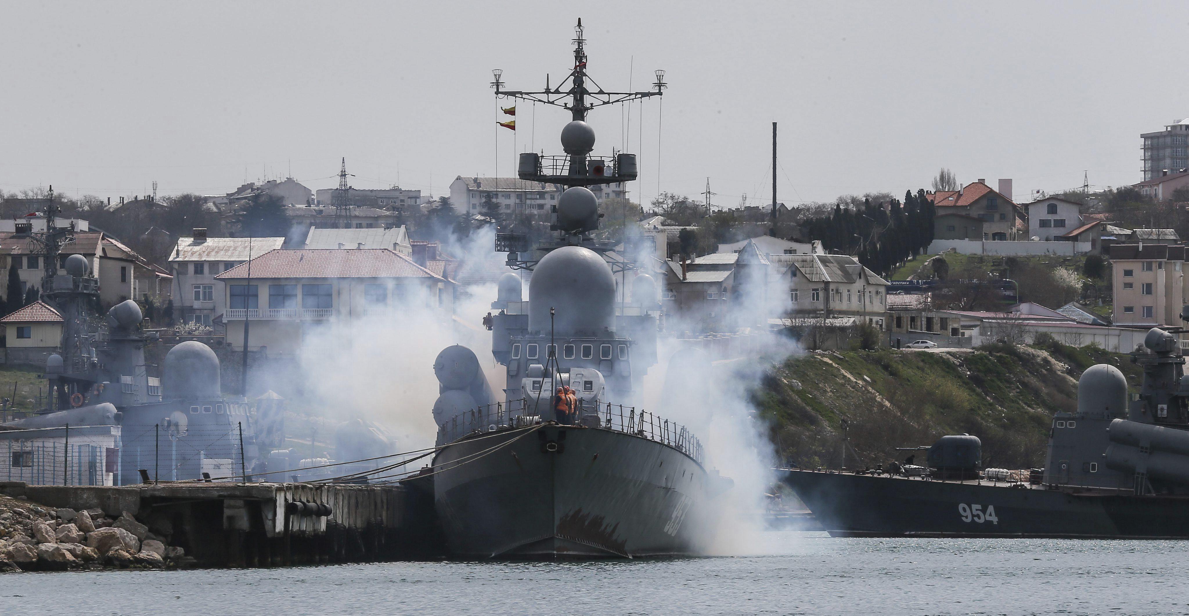 Putin nombra a un exjefe naval ucraniano como segundo de la Flota del mar Negro