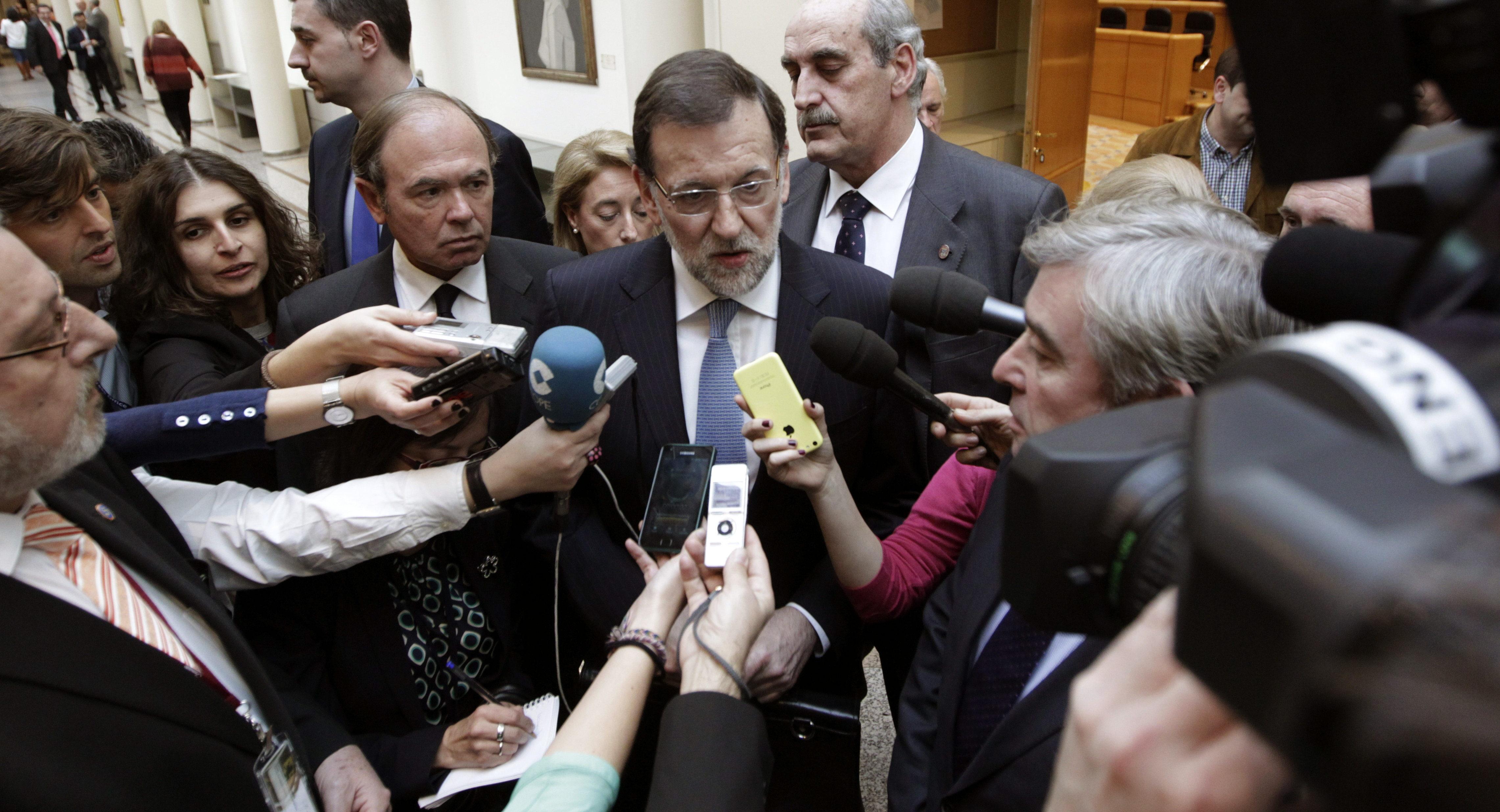 Rajoy responde mañana en el Senado sobre el encaje de Cataluña en España