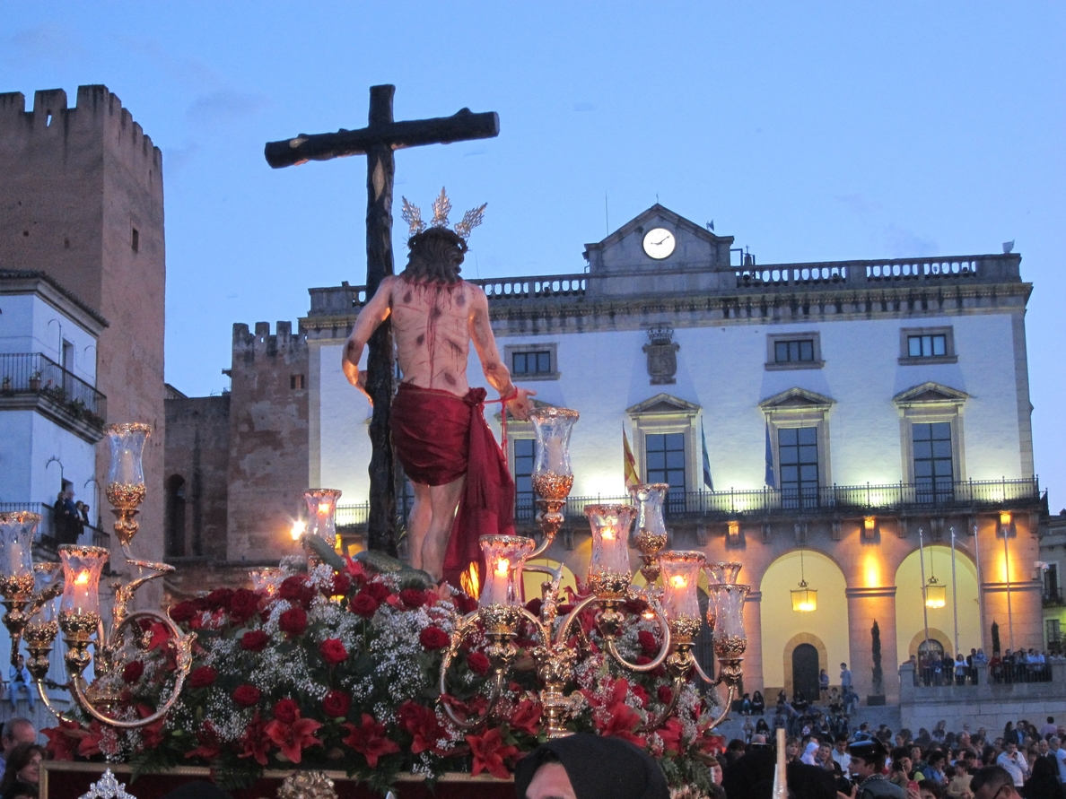 La Semana Santa de Cáceres ha sido «una de las mejores de los últimos años» en cuanto a visitantes