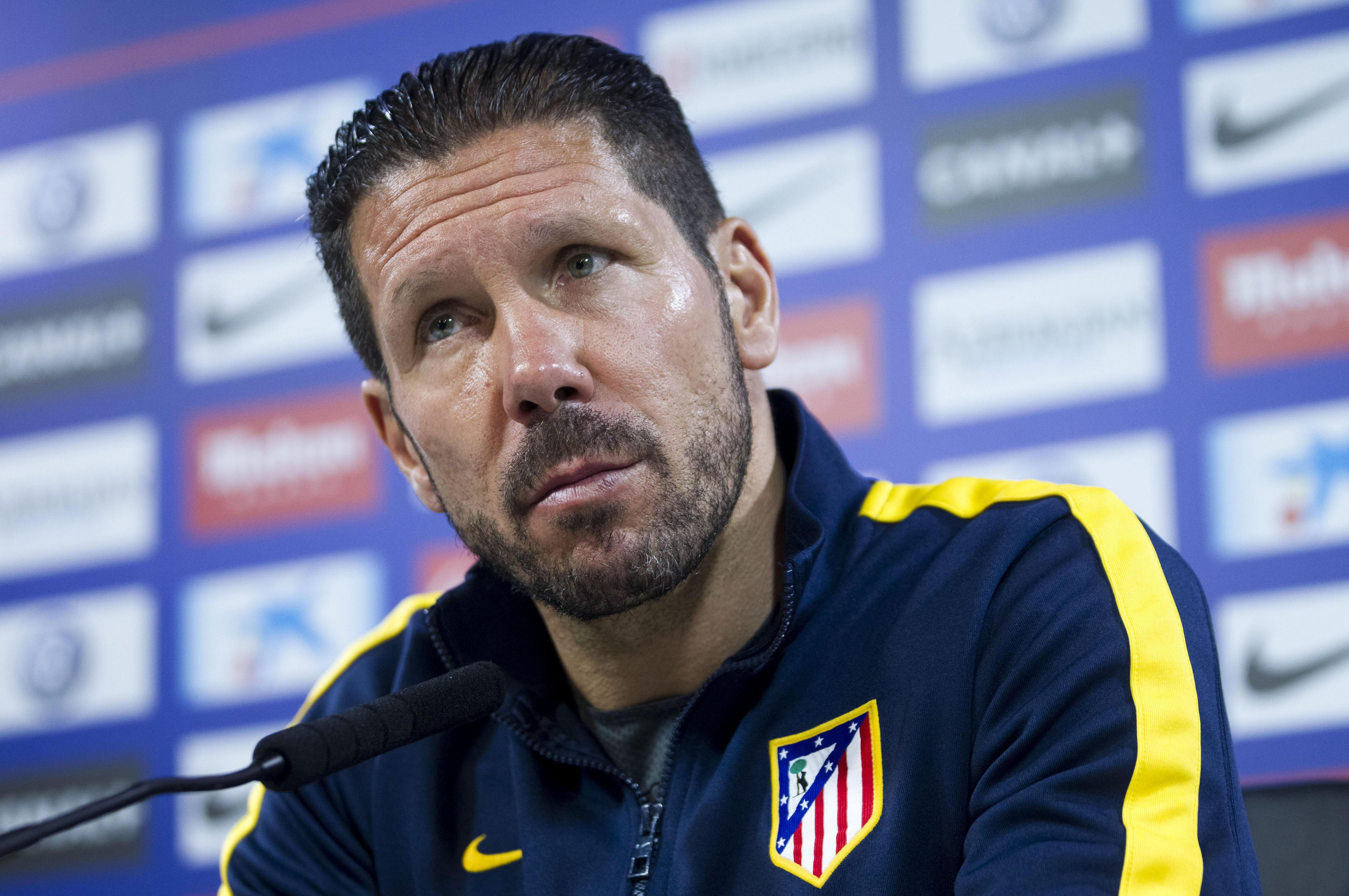 Simeone: «Torres siempre será del Atlético de Madrid esté donde esté»