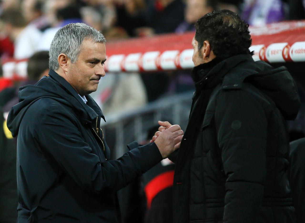 El »Cholismo» contra el »Mourinhismo», dos dogmas de fe futbolísticos frente a frente