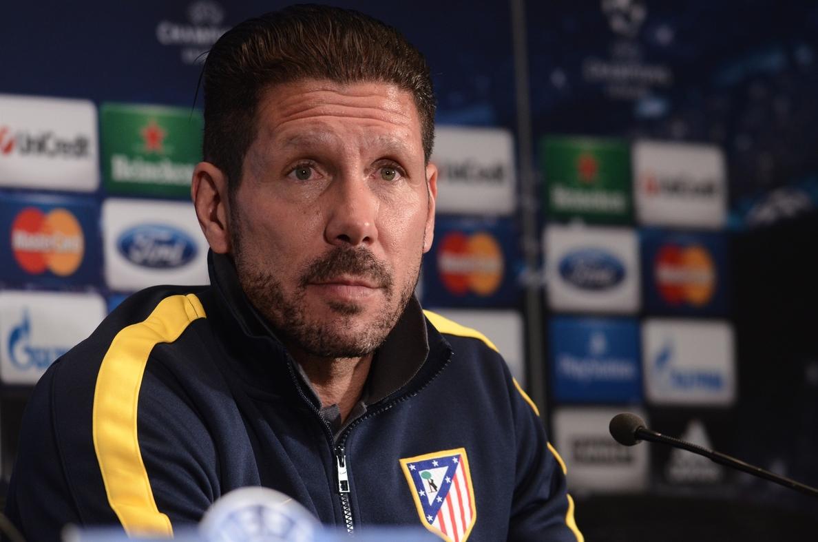 Simeone: «Será una semifinal apretada y que se decidirá por detalles»