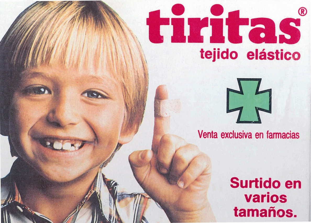 Las »Tiritas» para las heridas cumplen 60 años