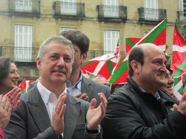 Urkullu censura que partidos y miembros de la justicia vasca no denuncien el incumplimiento «sistemático» del Estatuto
