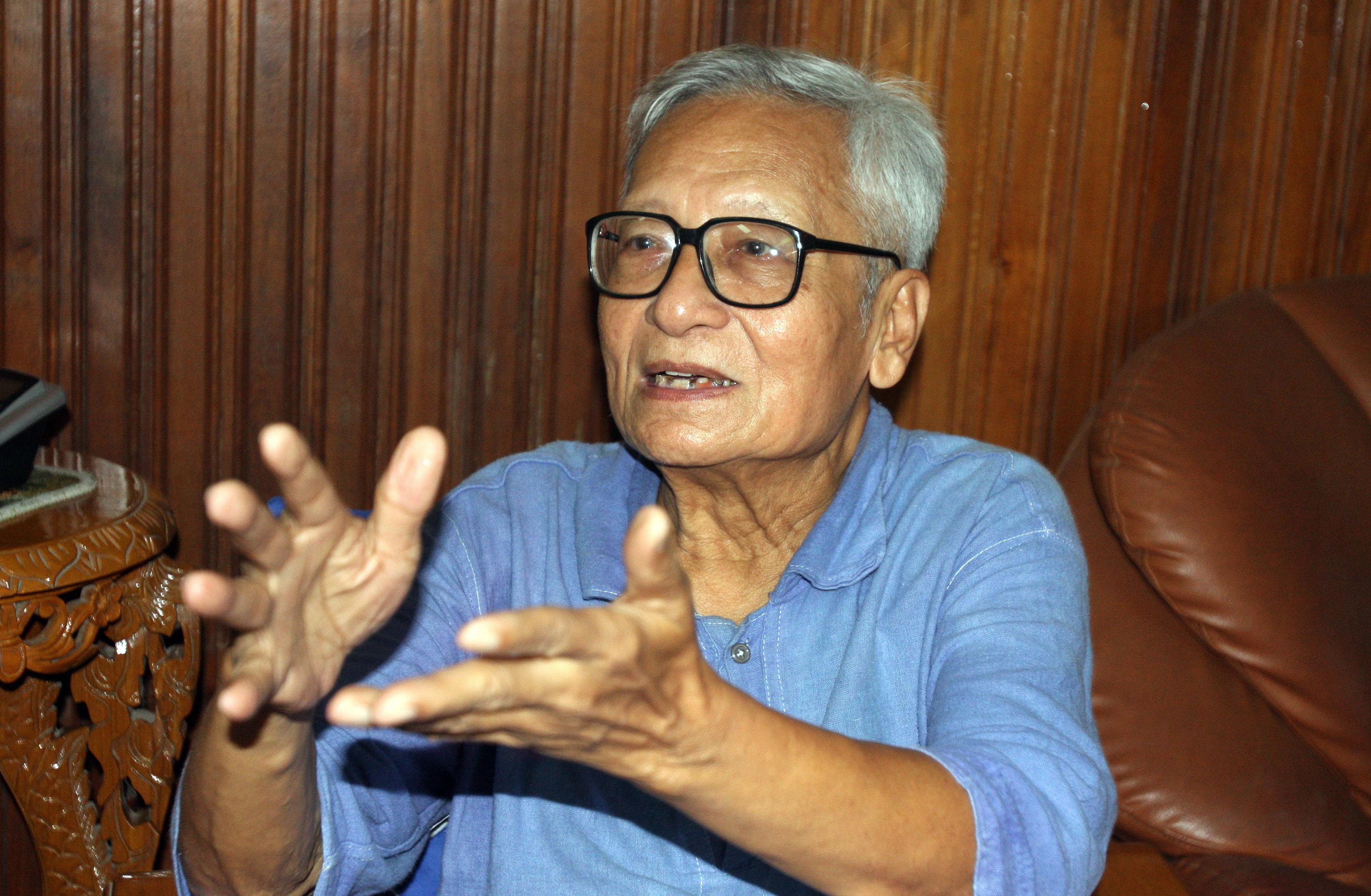 Fallece el activista político birmano Win Tin a los 85 años por una insuficencia renal