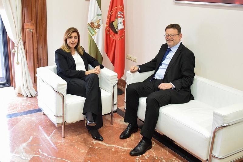 Ximo Puig ve al Gobierno de Díaz como un ejemplo en «combatir la corrupción», a diferencia del Ejecutivo valenciano