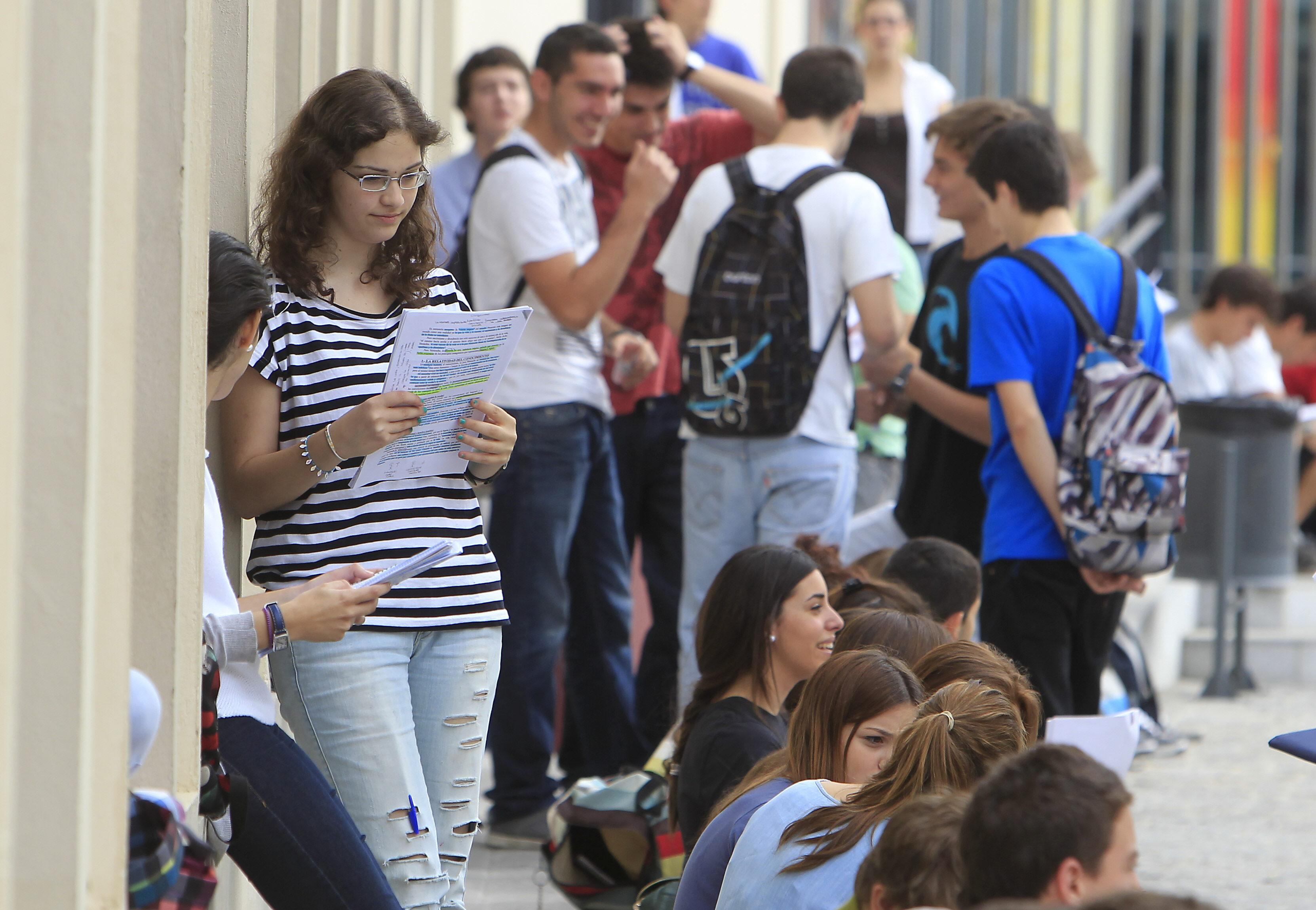 El 62,5 por ciento de los estudiantes de 15 años estudian el curso que les corresponde