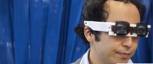 Crean en Japón unas gafas para ocultar las emociones que transmite la mirada