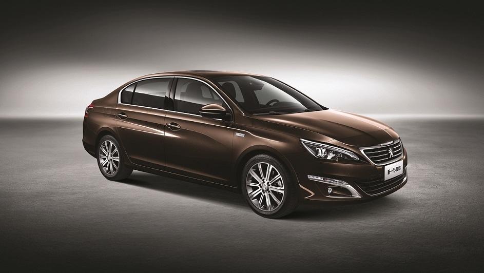 El nuevo Peugeot 408, en primicia mundial en Pekín