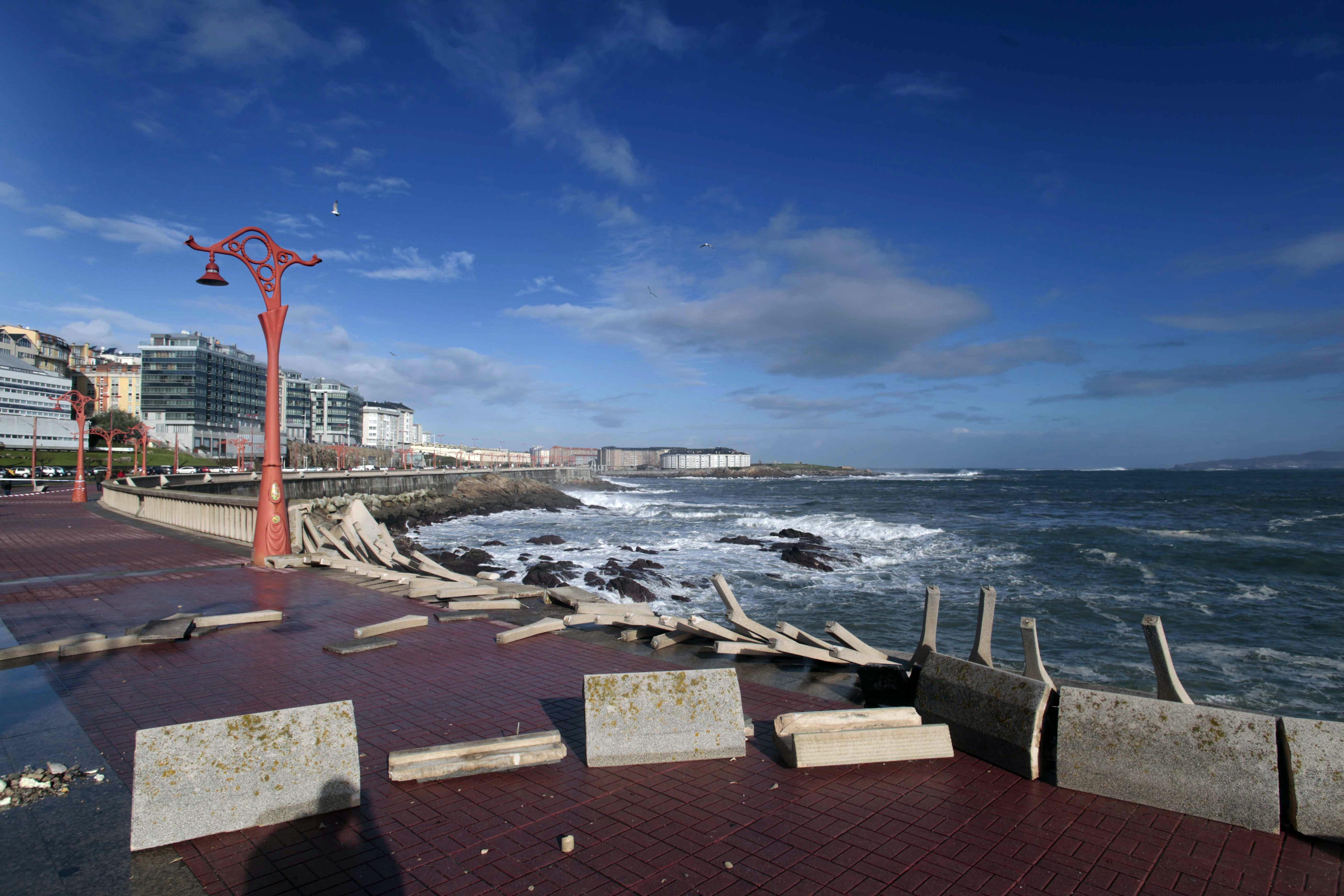 Las obras por los temporales en la costa finalizarán en junio