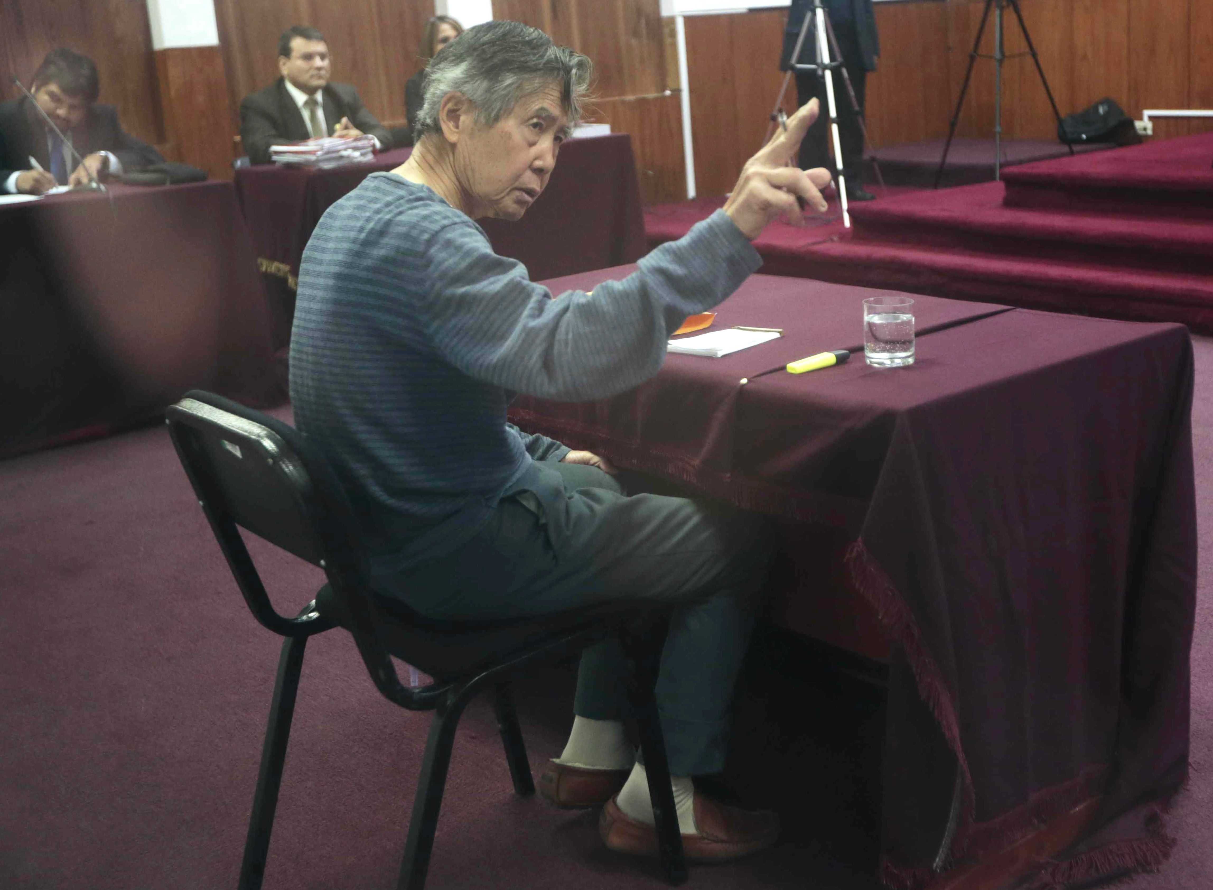 Fujimori busca nuevamente que justicia revise su condena a 25 años de prisión