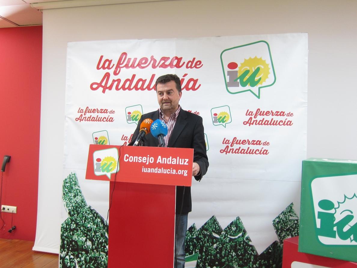 IU defiende los realojos y dice que el pacto con el PSOE no está en peligro