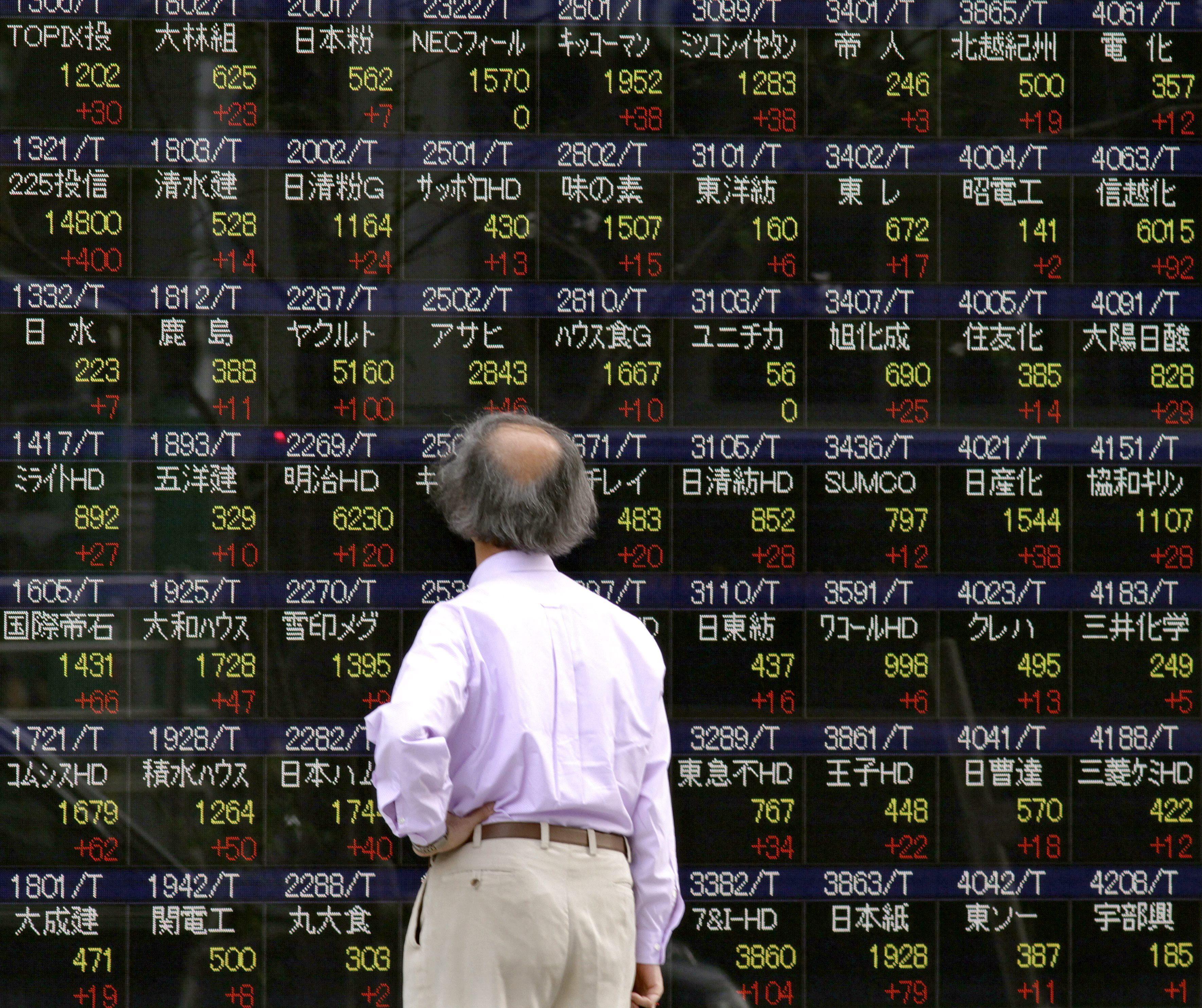 El Nikkei sube un 0,47 por ciento hasta los 14.581,18 puntos